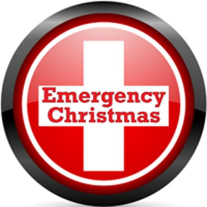 Picture of Emergency Christmas cover art.