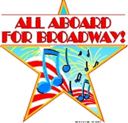 Picture of All Aboard For Broadway cover art.