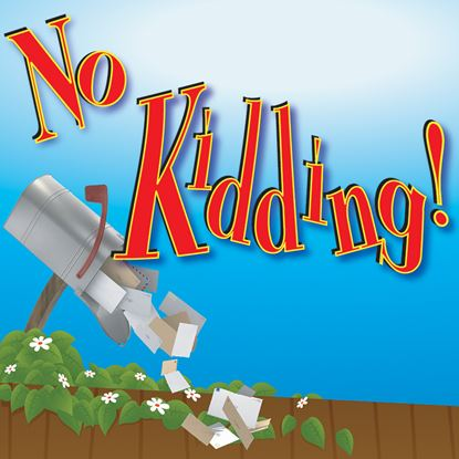 Picture of No Kidding! cover art.