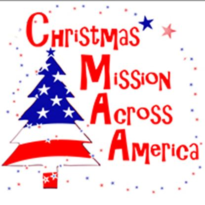 Picture of Christmas Mission Across Amer cover art.